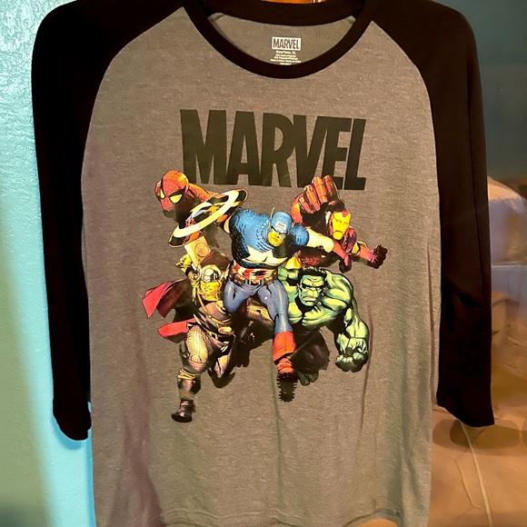 Marvel 3/4 sleeve